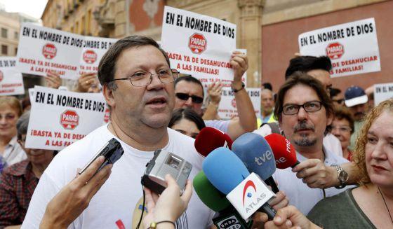 Ejemplo de comunicación, Stop desahucios efe Murcia