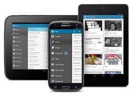 El mismo contenido en distintos dispositivos: WordPress una herramienta versátil.